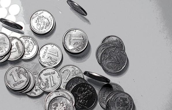Картинка стиль, деньги, монеты, рубли, копейки, железные деньги, деньги русские