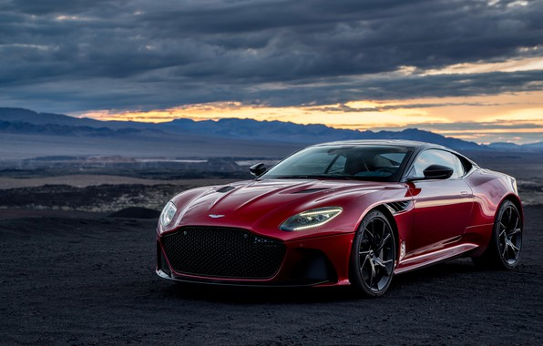 Картинка Aston Martin, DBS, Superleggera, 2018