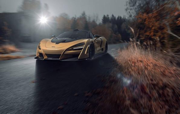 Картинка McLaren, скорость, суперкар, 2018, Novitec, N-Largo, 720S