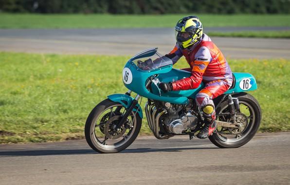Картинка мотоцикл, байк, гонщик, мотогонки