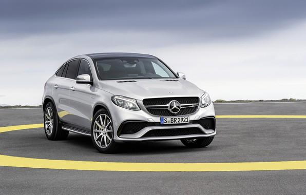 Картинка Mercedes, AMG, Coupe, 2016, 4Matic, GLE63