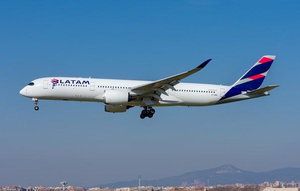 Картинка Airbus, Qatar Airways, A350-900