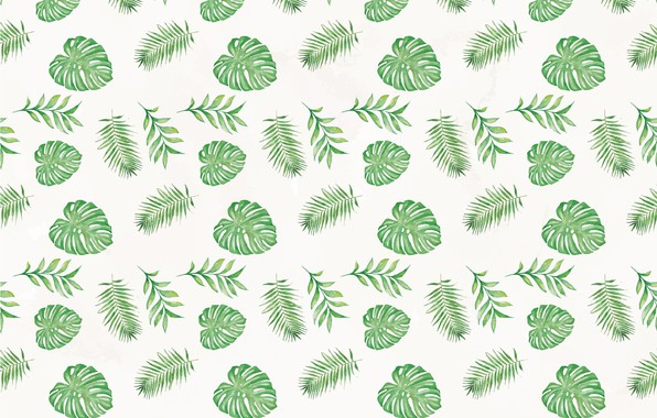 Картинка green, текстура, background, pattern, leaves