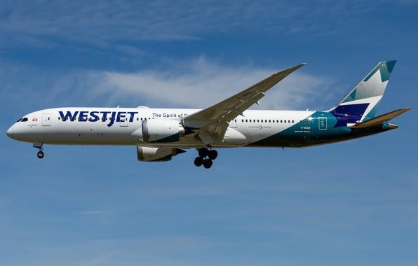Картинка Boeing, 787-9, WestJet