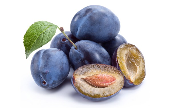 Картинка фон, фрукты, сливы, лакомство