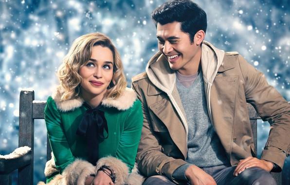 Картинка Emilia Clarke, комедия, comedy, 2019, Генри Голдинг, Henry Golding, Рождество на двоих, Эмилия. Кларк
