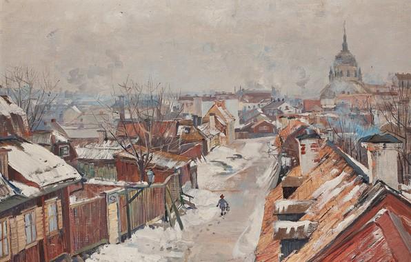 Картинка 1889, шведская художница, Swedish painter, Хильма аф Клинт, Hilma af Klint, oil on canvas, Стокгольм …