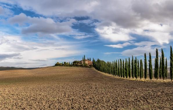 Картинка Italy, Beauty, Tuscany, Val d'Orcia