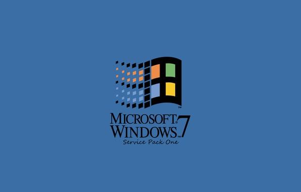 Картинка windows 7, Microsoft, windows logo, retro, windows 95, windows classic