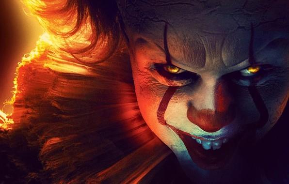 Картинка улыбка, клоун, ужасы, оно, Оно следует за тобой, It: Chapter Two