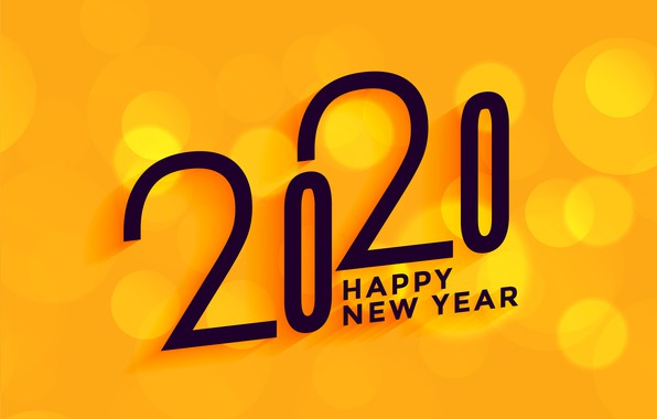 Картинка минимализм, Рождество, Новый год, Happy New Year, Christmas, New Year, Happy Christmas, 2020