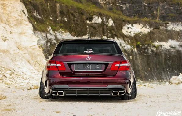 Картинка Car, Ass, Tuning, W212, Mercedes- Benz, E300