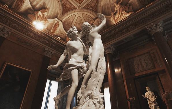Картинка Рим, архитектура, статуи