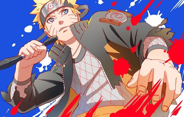 Картинка аниме, парень, Наруто, Naruto, Uzumaki Naruto
