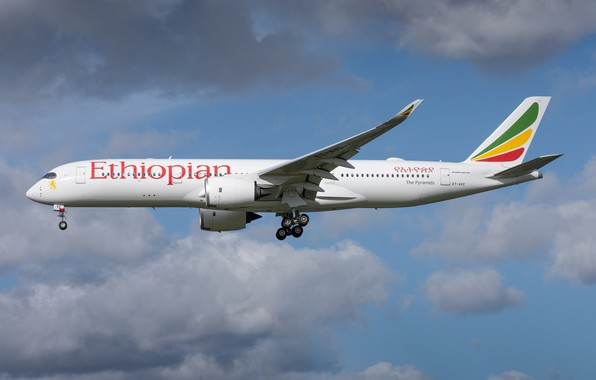 Картинка Airbus, A350-900, Ethiopian Airlines