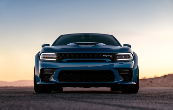 Картинка вечер, Dodge, Charger, Hellcat, SRT, Widebody, 2020