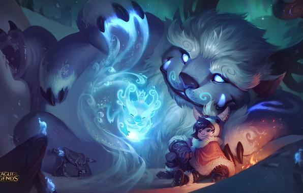 Картинка League of Legends, Nunu, Willump