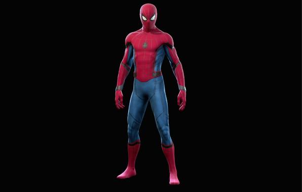Картинка человек-паук, spider-man, suit, костюм Старка