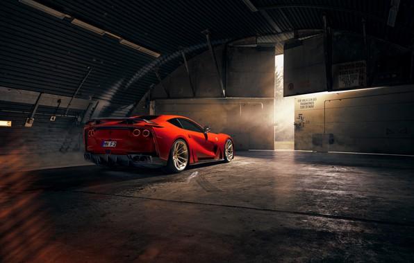 Картинка фонари, Ferrari, спорткар, Superfast, 812, Novitec N-Largo