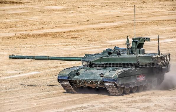 Картинка танк, полигон, модернизированный, Forum «ARMY 2018», T-90M