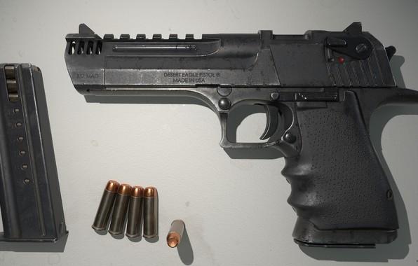 Картинка оружие, Кастом, gun, weapon, render, custom, desert eagle, рендер, 3d art, ренденринг, 357 Magnum, Дезерт …