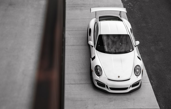 Картинка 911, Porsche, White, GT3RS, VAG