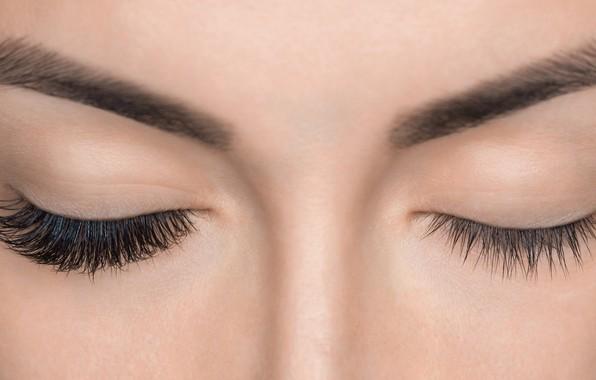 Картинка fashion, beauty, eyelashes, skin