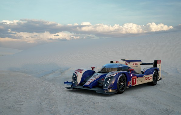 Картинка Песок, Пустыня, Toyota, Автомобиль, Gran Turismo Sport, TS030 Hybrid '12