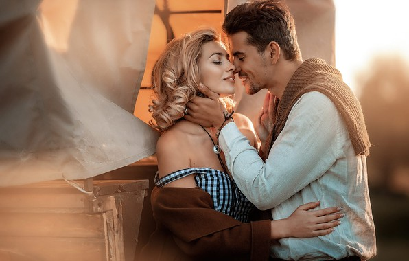 Картинка девушка, романтика, пара, мужчина, влюблённые, Irina Nedyalkova