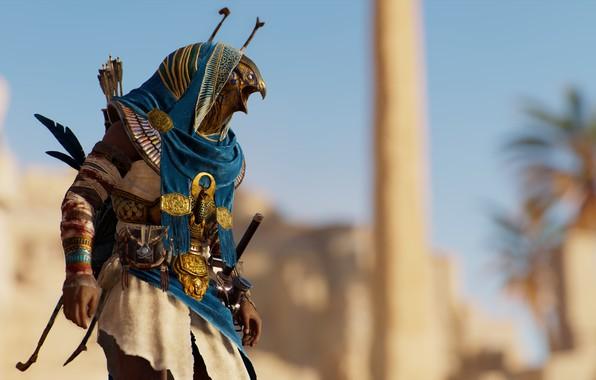 Картинка фон, игра, Assassin's Creed Origins