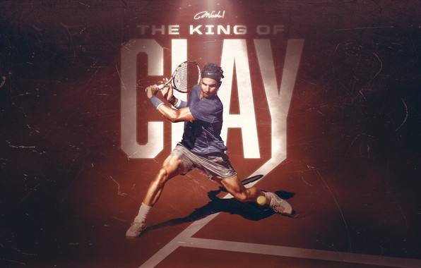 Картинка Sport, Tennis, King, Spanish, Rafa, Rafael Nadal, Clay