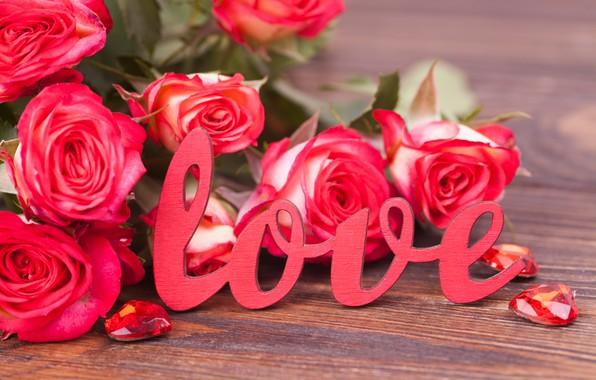 Картинка любовь, цветы, розы, букет, love, розовые, pink, flowers, beautiful, romantic, valentine's day, roses