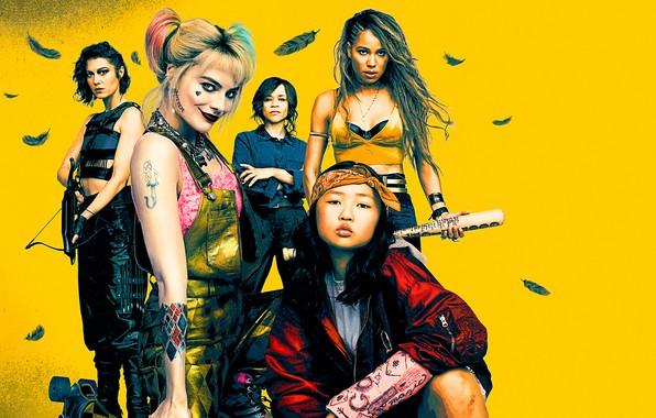 Картинка Harley, Action, One, Beautiful, Birds, Mad, the, Colorful, Men, Girls, Female, Guns, Eyes, Women, Blonde, …