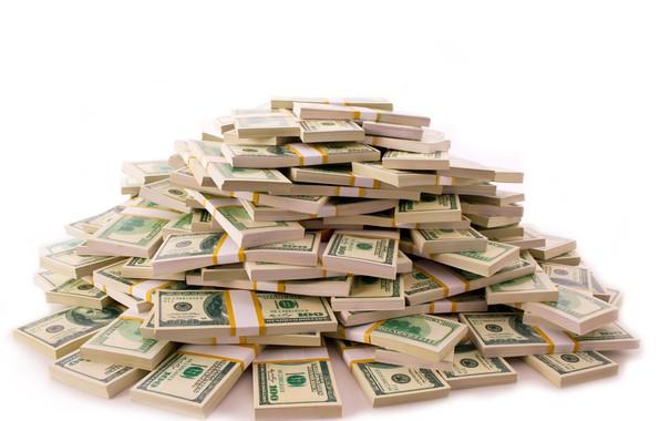 Картинка деньги, доллар, валюта, купюры, fon, пачки, dollar, куча денег