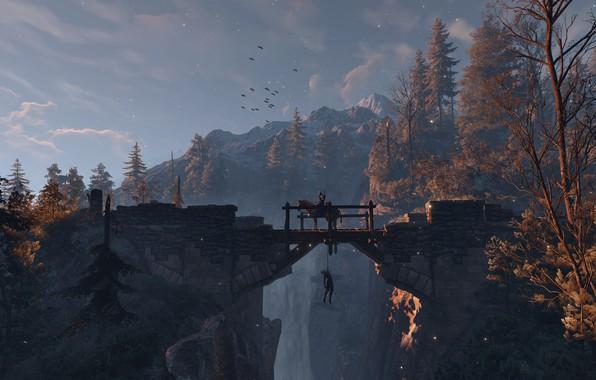 Картинка Ведьмак, The Witcher, The Witcher 3: Wild Hunt, Geralt of Rivia, Ведьмак 3: Дикая Охота, …