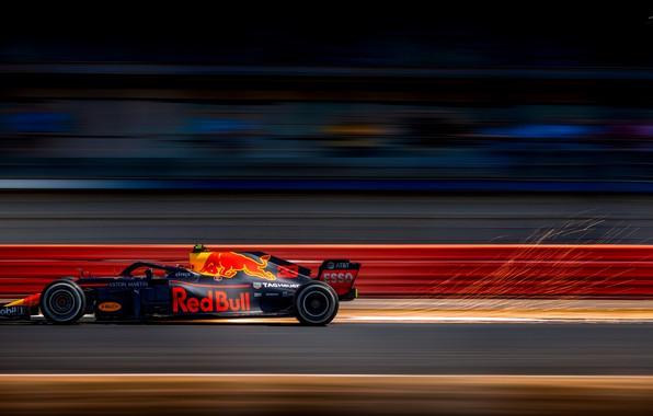 Картинка Red Bull, Silverstone, Max Verstappen, British Grand Prix 2018
