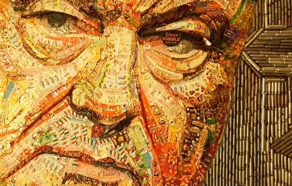 Картинка Конфеты, Картина, Мужчины, Мозаика, Пётр Порошенко