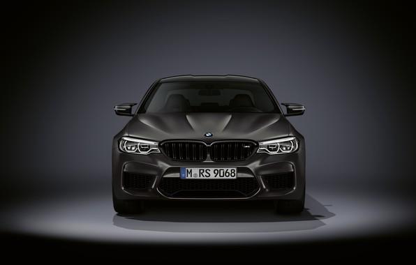Картинка BMW, седан, вид спереди, BMW M5, M5, F90, 2019, Edition 35 Years