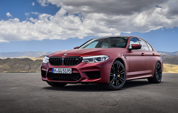 Картинка BMW, седан, 2017, M5, F90, M5 First Edition