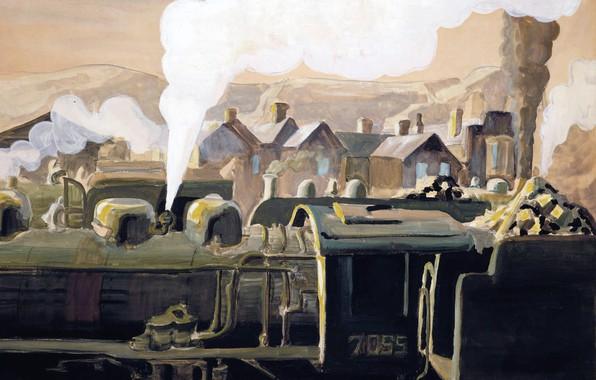Картинка 1921, Charles Ephraim Burchfield, Safety Valve
