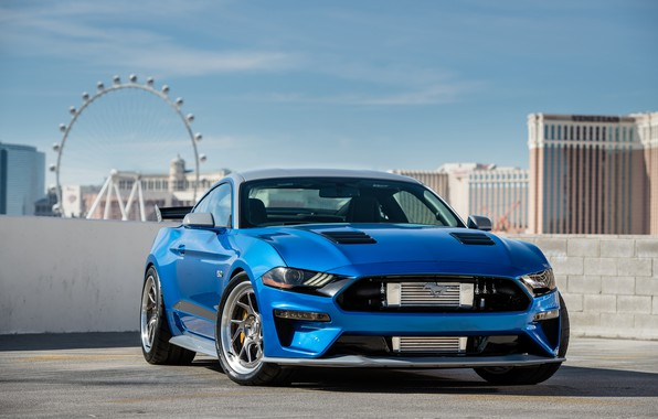 Картинка Ford, 2018, Mustang GT, Bojix Design, SEMA 2018