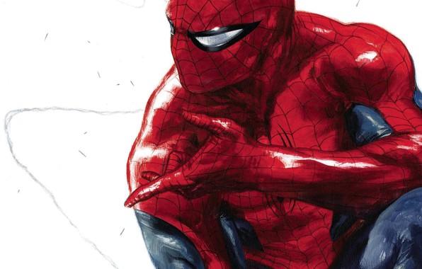 Картинка Art, Marvel, Comics, Peter Parker, Spider Man