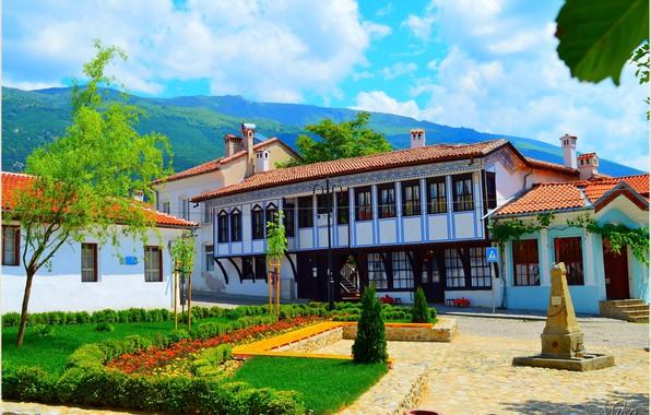 Картинка Дома, House, Болгария, Bulgaria, Карлово, Karlovo