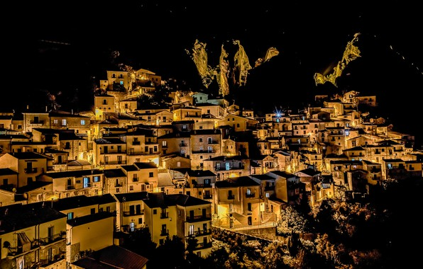 Картинка Italy, Basilicata, Castelmezzano