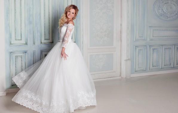 Картинка девушка, макияж, платье, прическа, невеста, свадьба, wedding