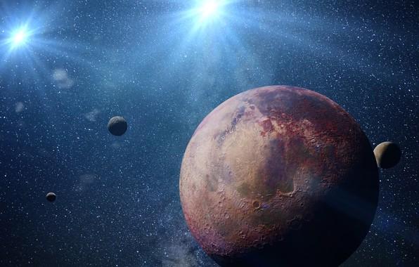 Картинка space, fantasy, planet, sci fi
