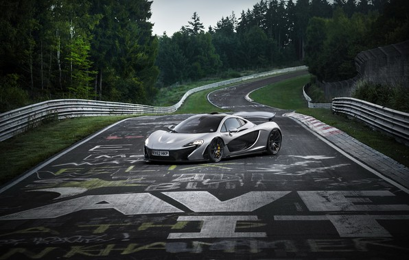 Картинка McLaren, Nurburgring, Nordschleife, P1