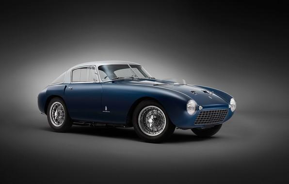 Картинка авто, ретро, Ferrari, Berlinetta, 166 MM