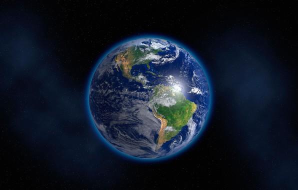 Картинка пространство, земля, мир, планета, голубая планета