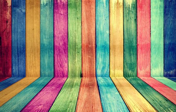 Картинка фон, дерево, краски, доски, цвет, colors, colorful, vintage, wood, background, grunge, painted